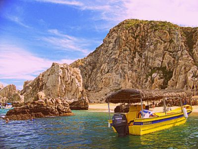 Lovers Beach - Baja Peninsula, Cabo San Lucas, Mexico