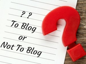 To BlogorNot To Blog Article